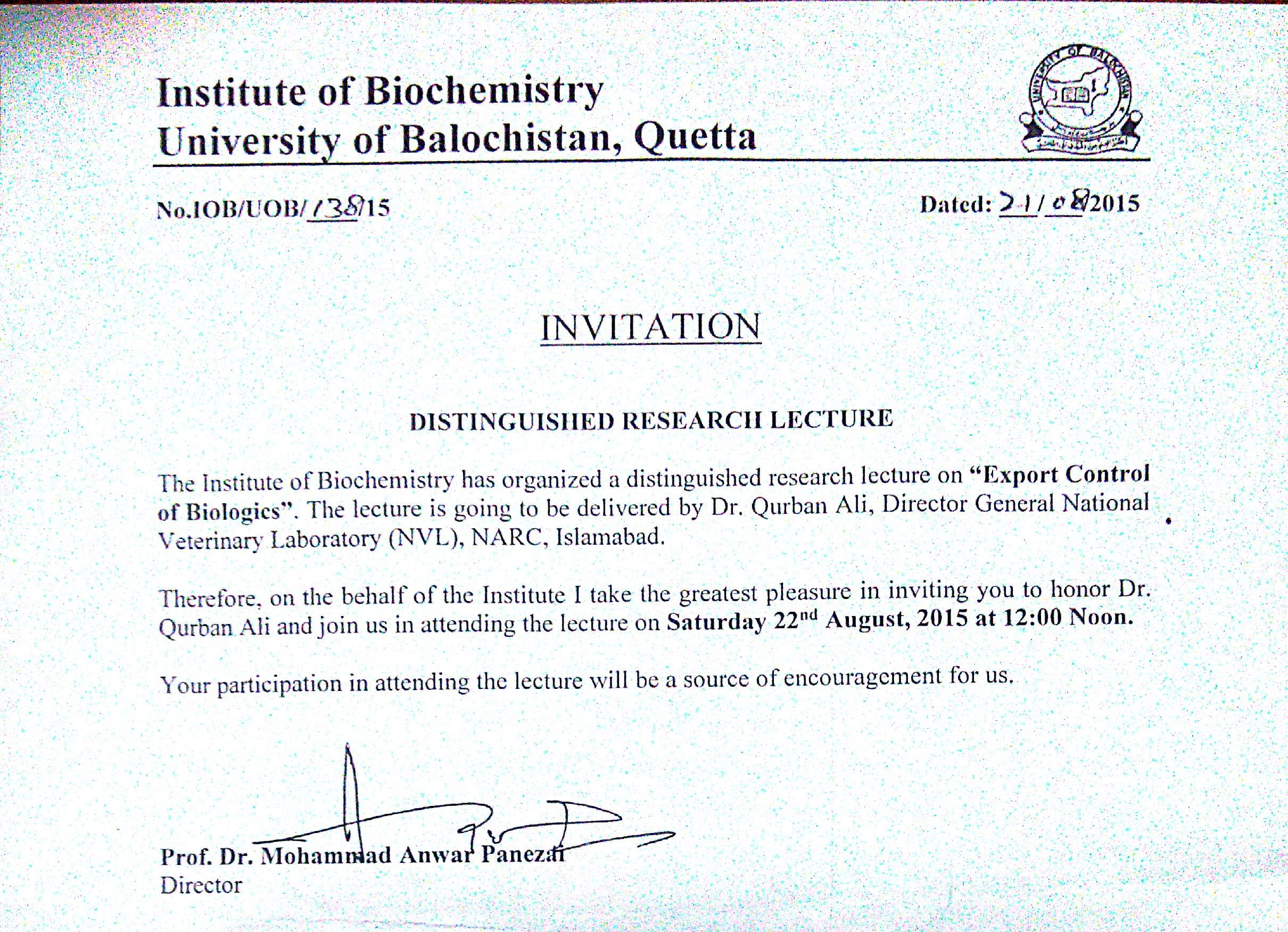 Events all the officers are invited to attend the oath taking ceremony of administrative officers association university of balochistan quetta stopboris Images